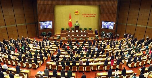 Toàn cảnh Kỳ họp thứ Tám, Quốc hội khóa XIV