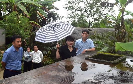 Tổ Đại biểu HĐND tỉnh Khảo sát, giám sát công trình cấp nước sinh hoạt nông thôn tập trung tại xã Thu Tà.