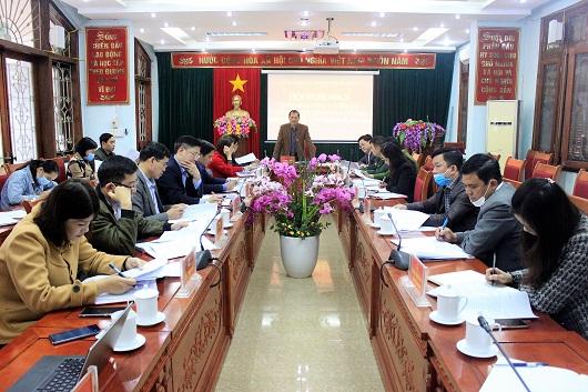 Hội nghị lần thứ 3 Ủy ban Bầu cử thành phố Hà Giang